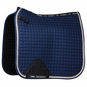 Weatherbeeta Prime Bling Dressage Saddle Pad - Navy