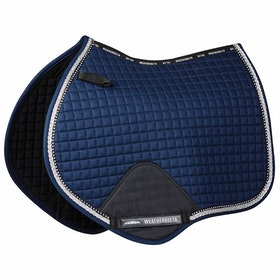 Weatherbeeta Prime Bling Jump Saddle Pad - Navy