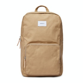 Sandqvist Kim Backpack - Beige With Natural Leather