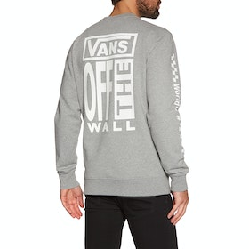 Sweat Vans Ave Crew - Cement Heather