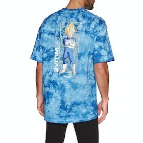 Primitive Vegeta Glow Washed Short Sleeve T-Shirt - Slate Wash