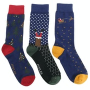 Meias Joules Striking Xmas 3pk