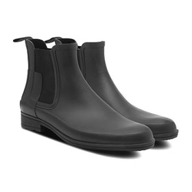 Hunter Original Refined Chelsea Womens Wellies - Black