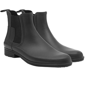 Hunter Original Refined Chelsea Ladies Wellington Boots - Black
