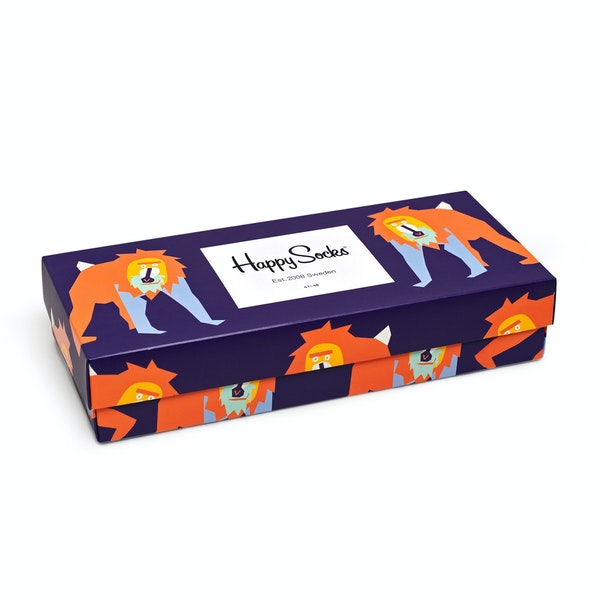 Happy Socks Animal Gift Box 4-pack Socks