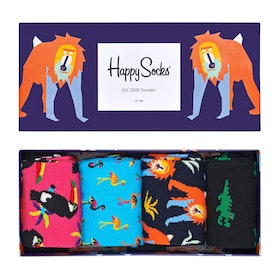 Calcetines Happy Socks Animal Gift Box 4 Pack - Multi