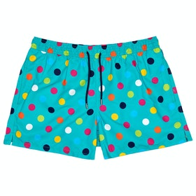 Happy Socks Big Dot Men's Swim Shorts - Multi