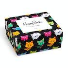 Happy Socks Cat Gift Box 2-pack Socks