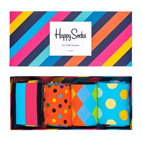 Happy Socks Classics Gift Box 4 Pack Socks - Multi