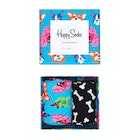 Happy Socks Dog Gift Box 2 Pack Fashion Socks
