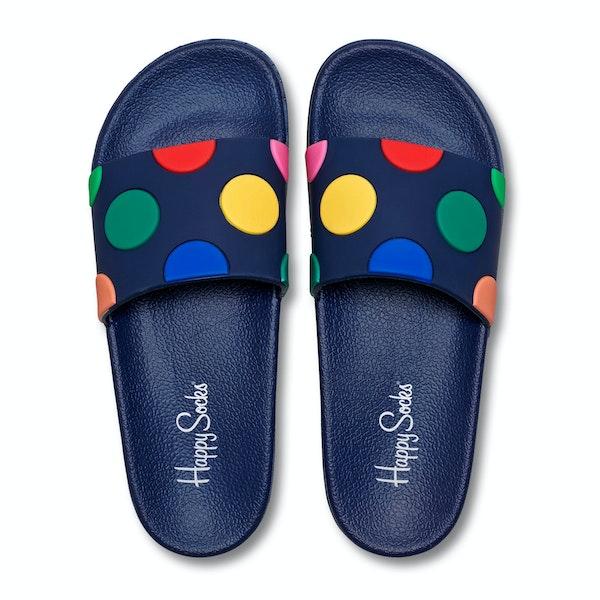 Happy Socks Pool Slider Dot Men's Sliders