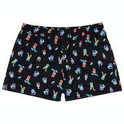 Happy Socks Tiki Soda Men's Swim Shorts