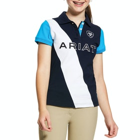 Ariat Taryn Polo-Shirt - Navy Nautilus