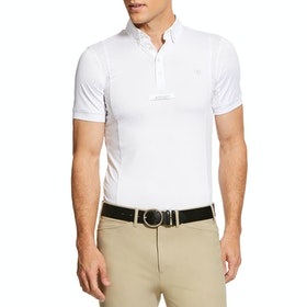 Ariat Tek Show Turnier-Shirt - White