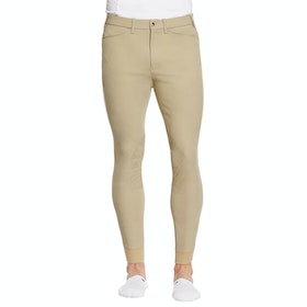 Ariat Tri Factor Grip Knee Patch Mens Riding Breeches - Tan
