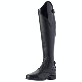 Ariat Heritage Contour II Ellipse II Ladies Long Riding Boots - Black Patent