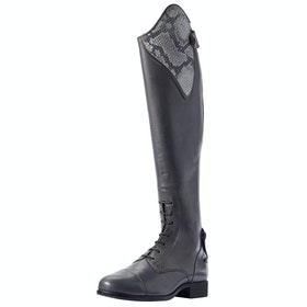 Ariat Heritage Contour II Ellipse II Ladies Long Riding Boots - Grey Snake