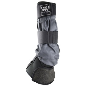 Woof Wear Mud Fever Turnout Therapy Horse Boot - Black Grey