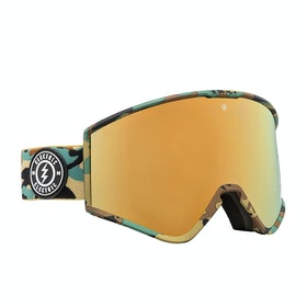 Electric Kleveland Snow Goggles - Camo ~ Brose/gold Chrome