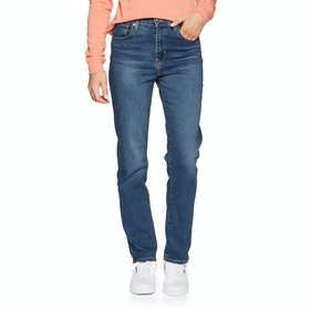 Levi's 724 High Rise Straight Women's Jeans - Paris Storm