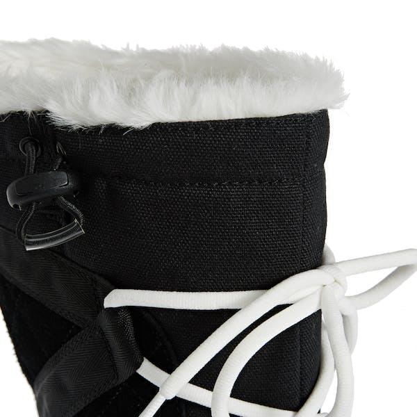 Bottes Femme Sorel Glacy Explorer Faux Fur