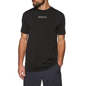Oakley 3rd G Short Sleeve O Fit Tee 2.7 Running Top - Blackout