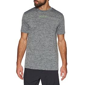 Oakley 3rd G Short Sleeve O Fit Tee 2.7 Running Top - Dark Grey Hthr