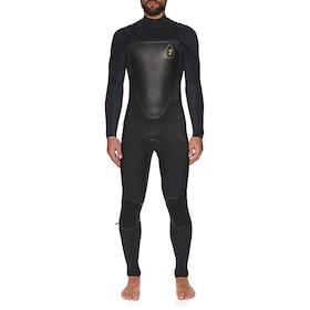 O'Neill Mutant Legend 5/4mm Chest Zip Hooded Wetsuit - Black