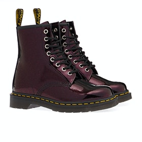 Dr Martens 1460 Sparkle Damen Stiefel - Purple/royal Sparkle