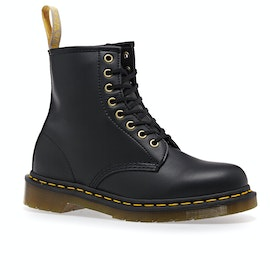 Dr Martens Vegan 1460 Stiefel - Black Felix Rub Off