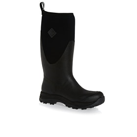 Muck Boots Arctic Outpost Tall Wellington Boots - Black Grey