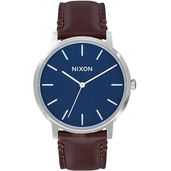 Nixon Porter Leather Men's Watch