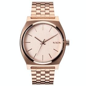 Zegarek Nixon Time Teller - All Rose Gold Colour