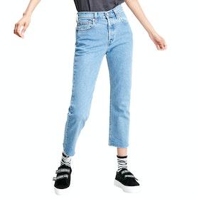 Levi's 501 Crop Damen Jeans - Tango Beats