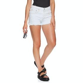 Levi's 501 High Rise Damen Shorts - Trace Indigo