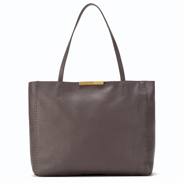 Ted Baker Clarkia Soft Grain Faceted Bar Shopper Bag