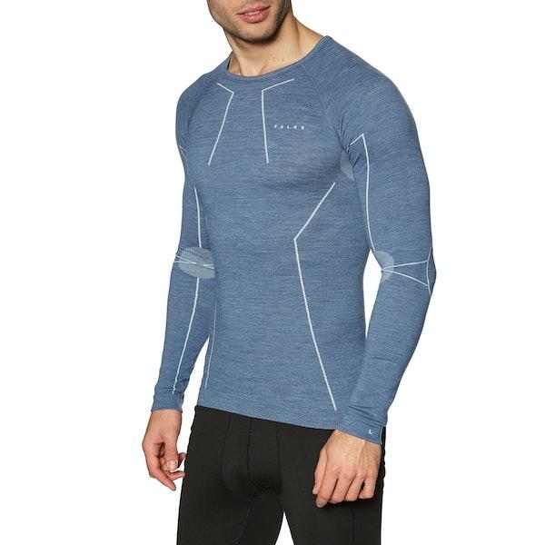 Falke Wool Tech Long sleeved Men's Base Layer Top