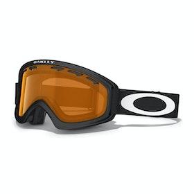 Gogle narciarskie Dziecięce Oakley O2 XS - Matte Black ~ Persimmon