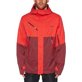 Kurtka snowboardowa Oakley Crescent 2.0 Shell 2l 10k - High Risk Red