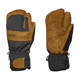POW August Short Trigger Heren Ski handschoenen - Buckhorn Brown