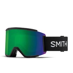 Smith Squad Xl Schneebrille - Black Chromapop Sun Green Mirror