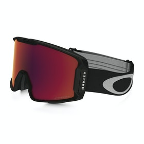 Gogle narciarskie Męskie Oakley Line Miner - Matte Black ~ Prizm Torch Iridium