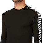 Top de base interior Hombre Helly Hansen LIfa Stripe Crew LS