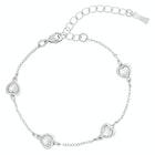 Ted Baker Heniee Swarovski Crystal Heart Bracelet