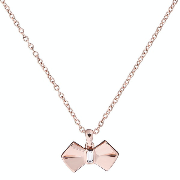 Necklace Ted Baker Sarahli Solitaire Bow Pendant