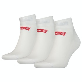Calcetines Levi's 168sf Mid Cut 3 Pack - White
