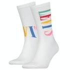 Levi's Tall Logo 2 Pack Fashion Socks