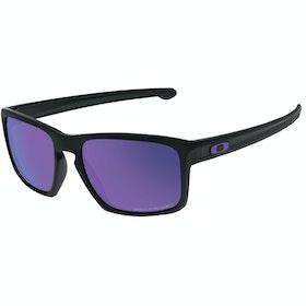 Oakley Sliver Gepolariseerd Zonnebril - Matte Black ~ Violet Iridium