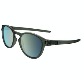 Oakley Latch Sunglasses - Matte Olive Ink ~ Emerald Iridium