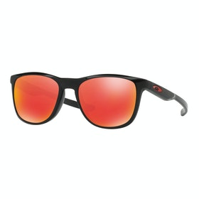 Oakley Trillbe X Sunglasses - Matte Black ~ Ruby Iridium